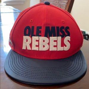 Nike Ole Miss Rebels flat bill hat